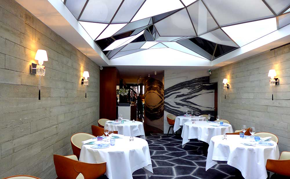 Le Grand Restaurant, la salle