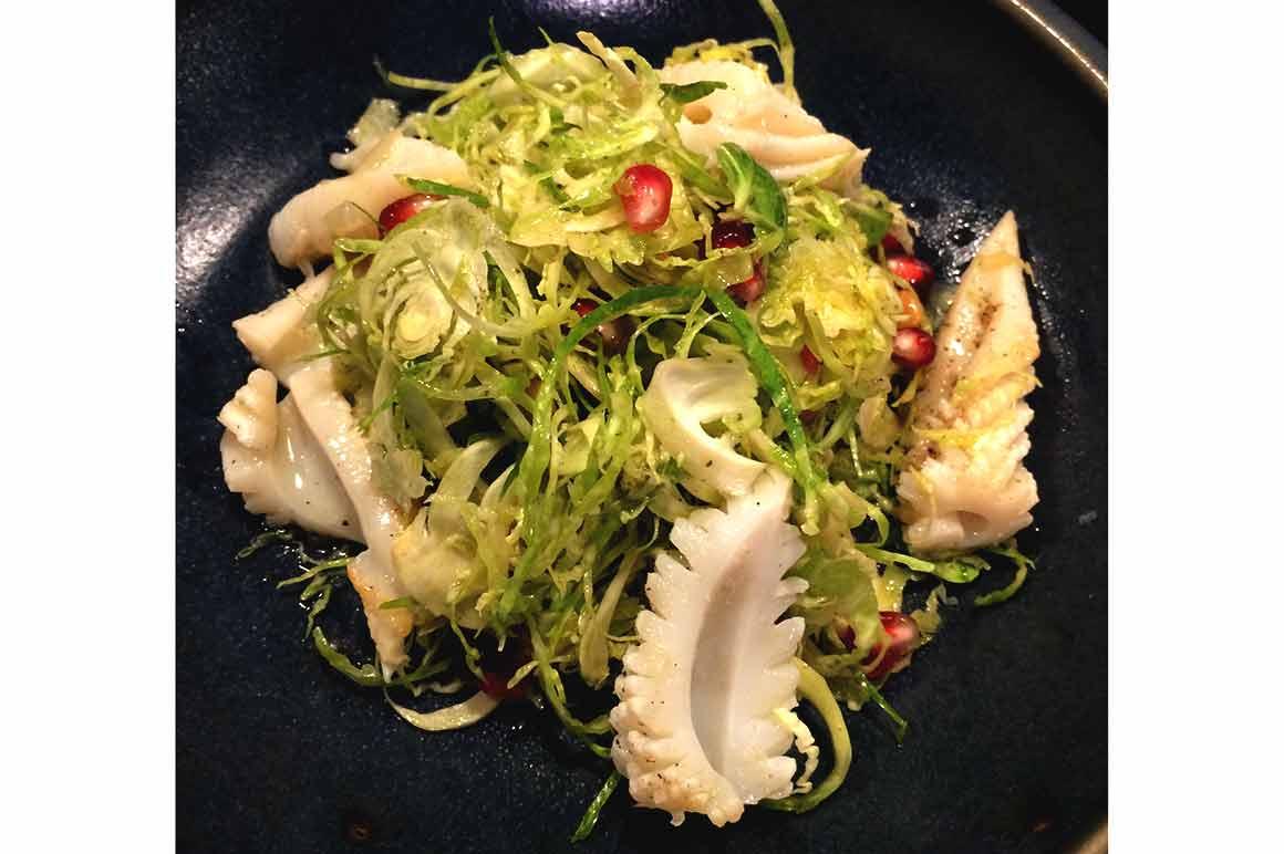 Restaurant Pouliche calamars