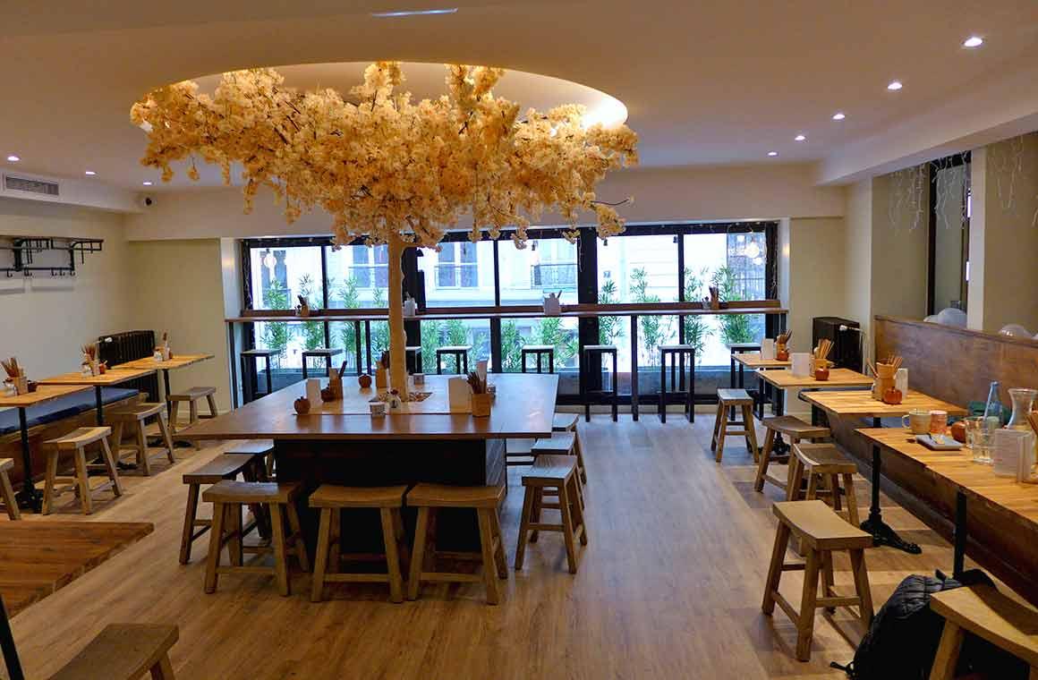 Restaurant Neko Ramen la salle