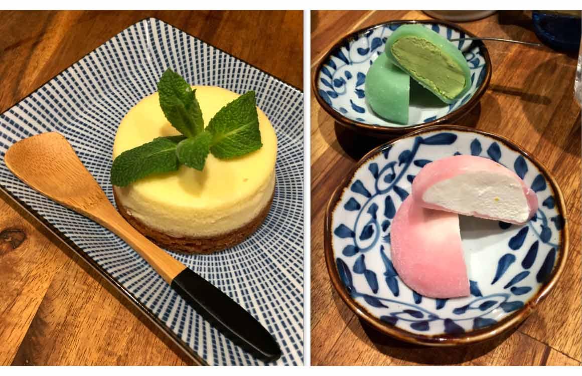 Restaurant Neko Ramen Cheesecake et Mochis
