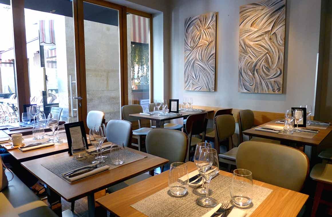 Restaurant Les Fables de la Fontaine, la salle