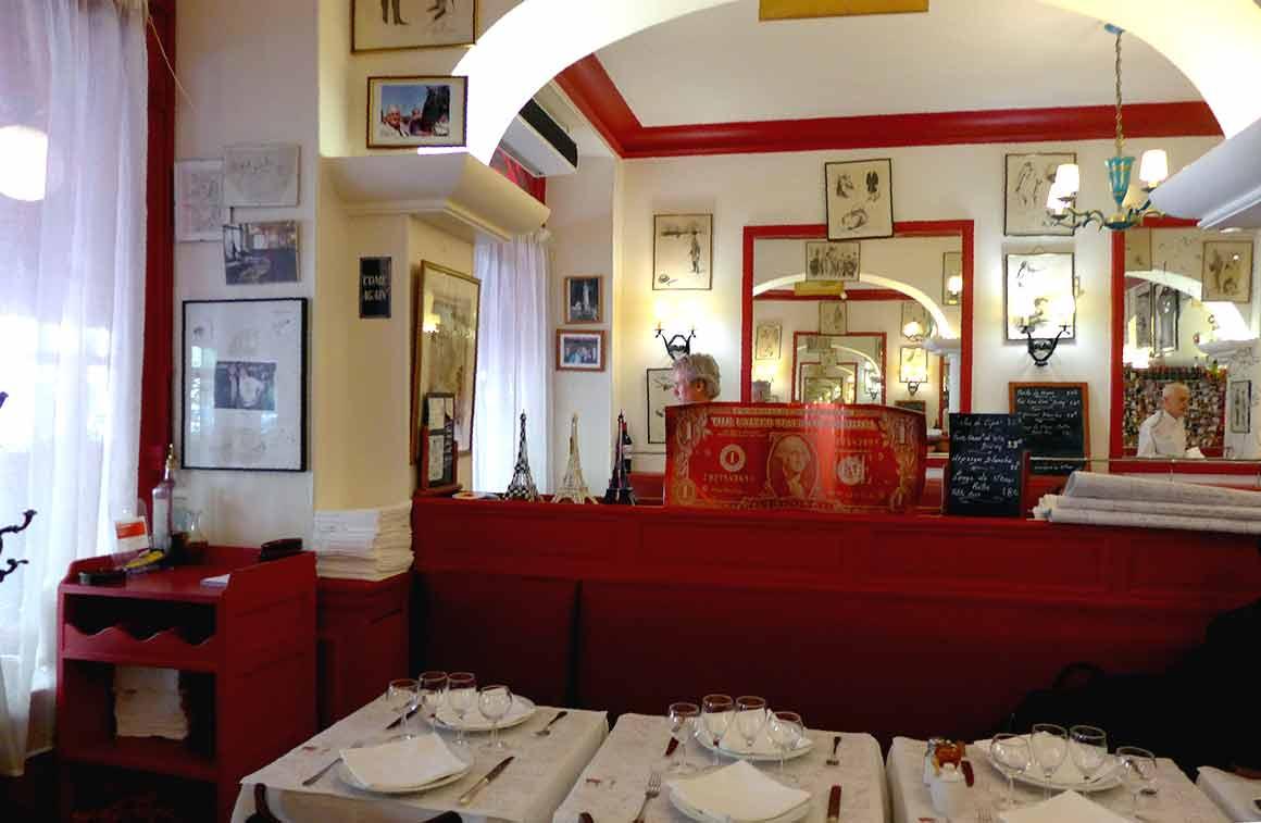 Restaurant Le Gourmets des Ternes la salle