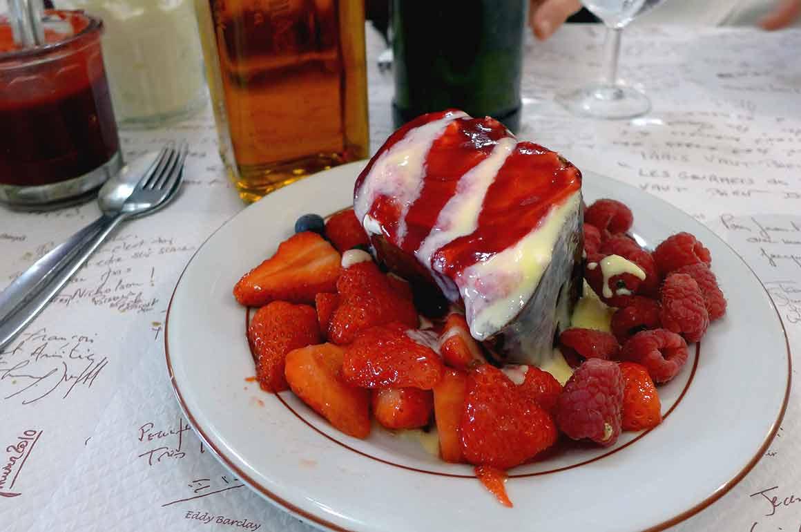 Restaurant Le Gourmets des Ternes, le baba