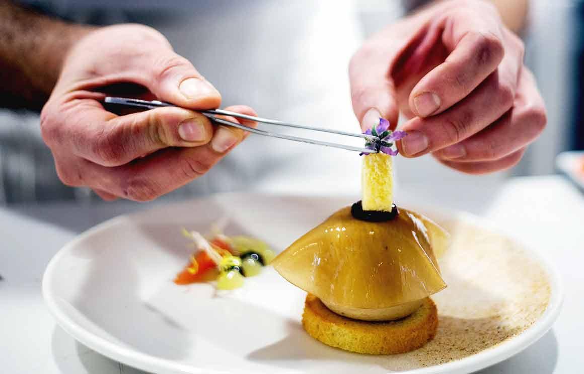Restaurant Amélie dessert