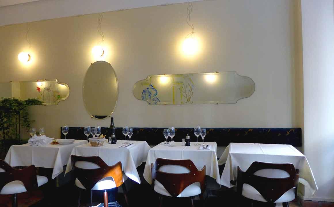 La Sirène de Lorette la salle du restaurant
