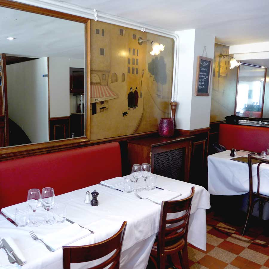 Restaurant Paul, la salle