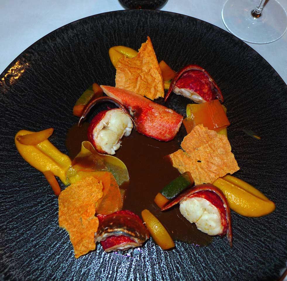 restaurant L'Abeille le homard rôti