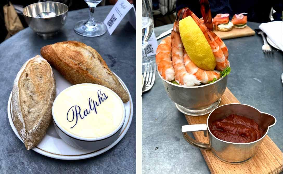 Restaurant Ralph's cocktail de crevettes