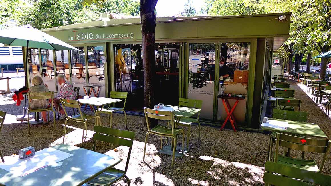 Restaurant La Table du Luxembourg