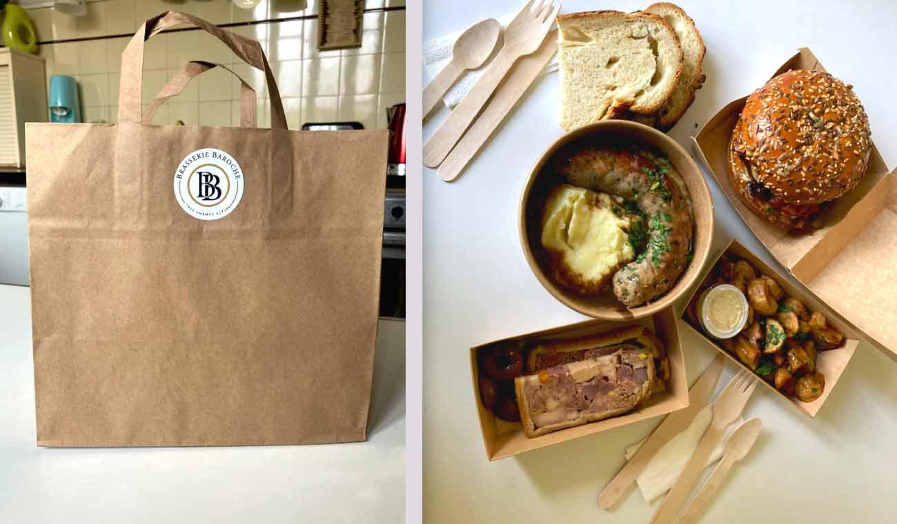 Brasserie Baroche vente à emporter
