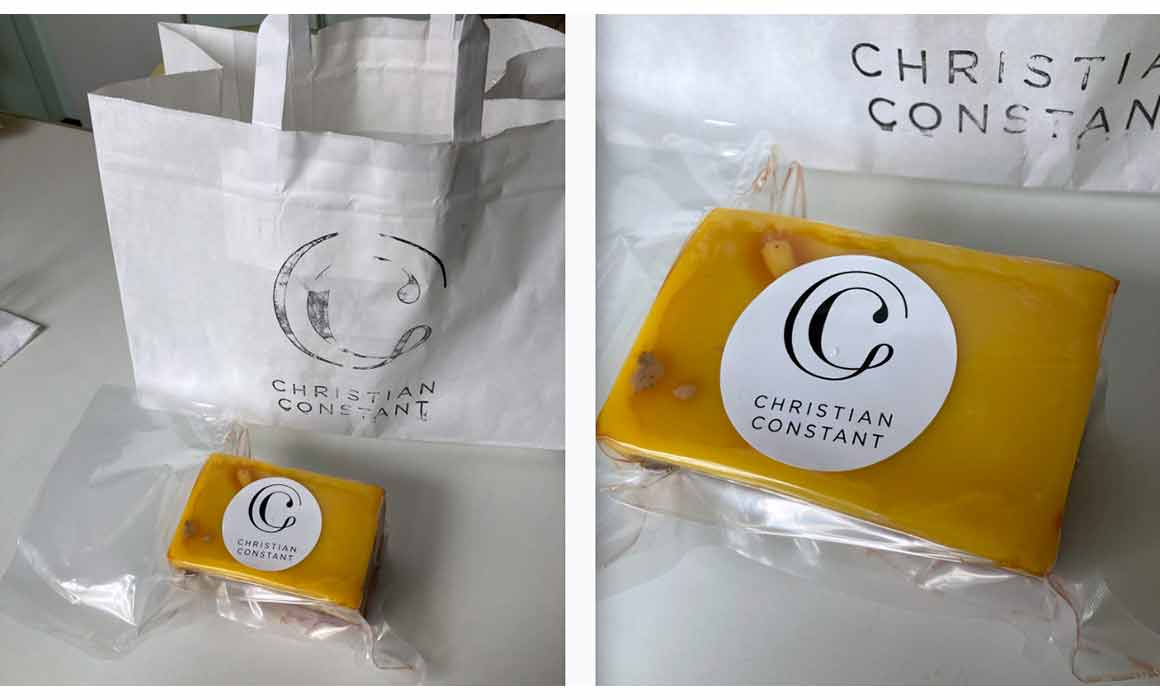Le bloc de foie gras à emporter du Café Constant