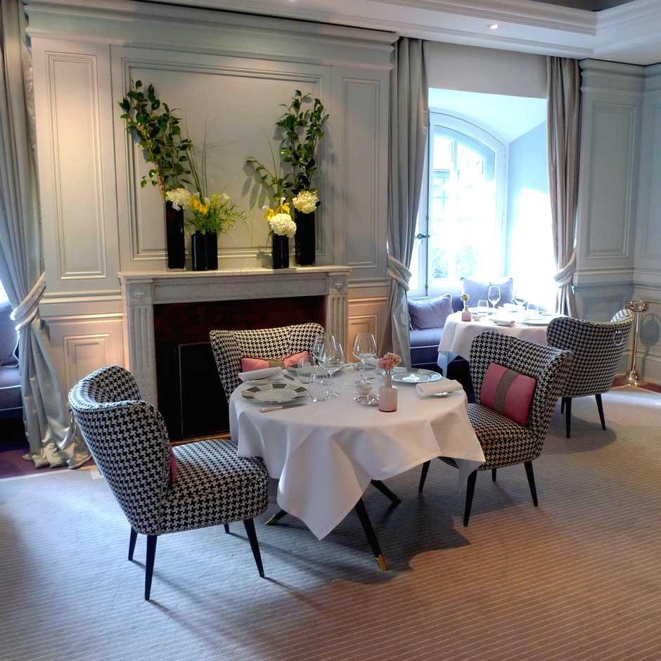 Restaurant 1 Place Vendôme, un cadre chic