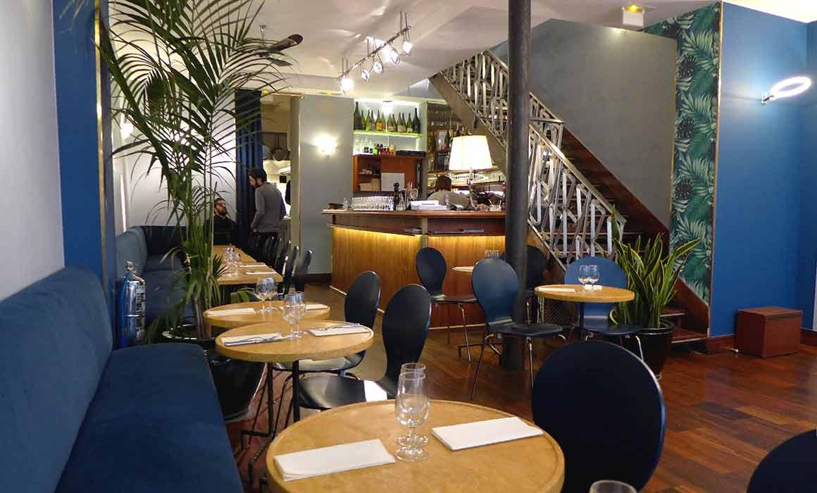 Restaurant 14 Paradis, La salle