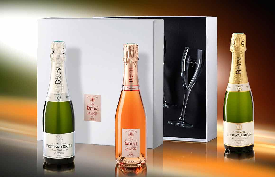 Le Champagne Edouard Brun pour la Saint Valentin