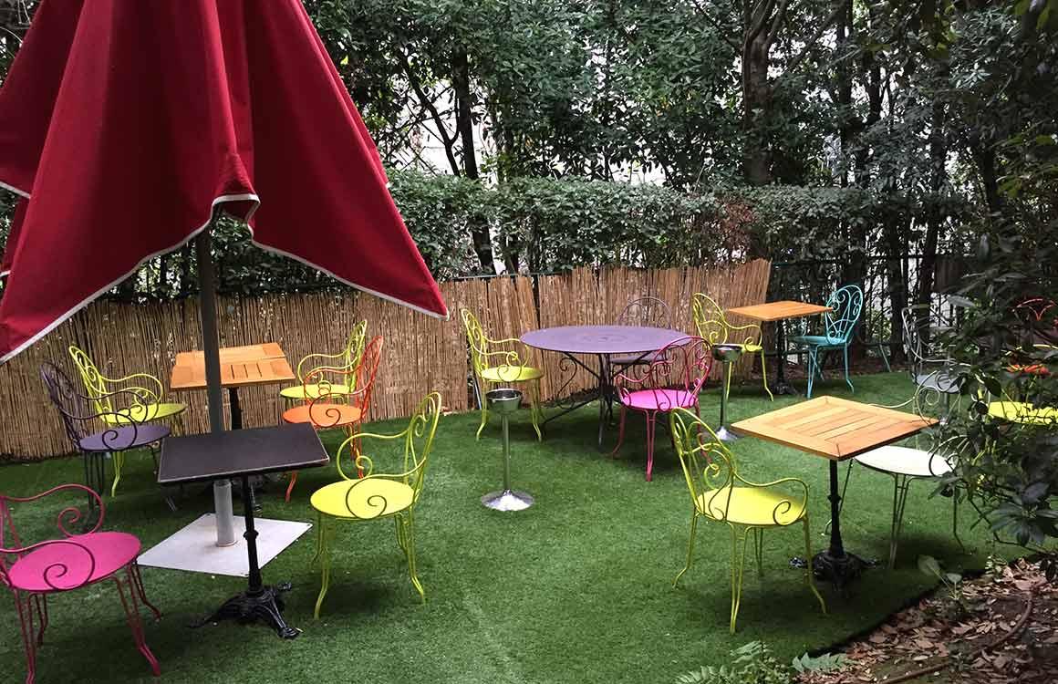 Restaurant Café de la Jatte le jardin