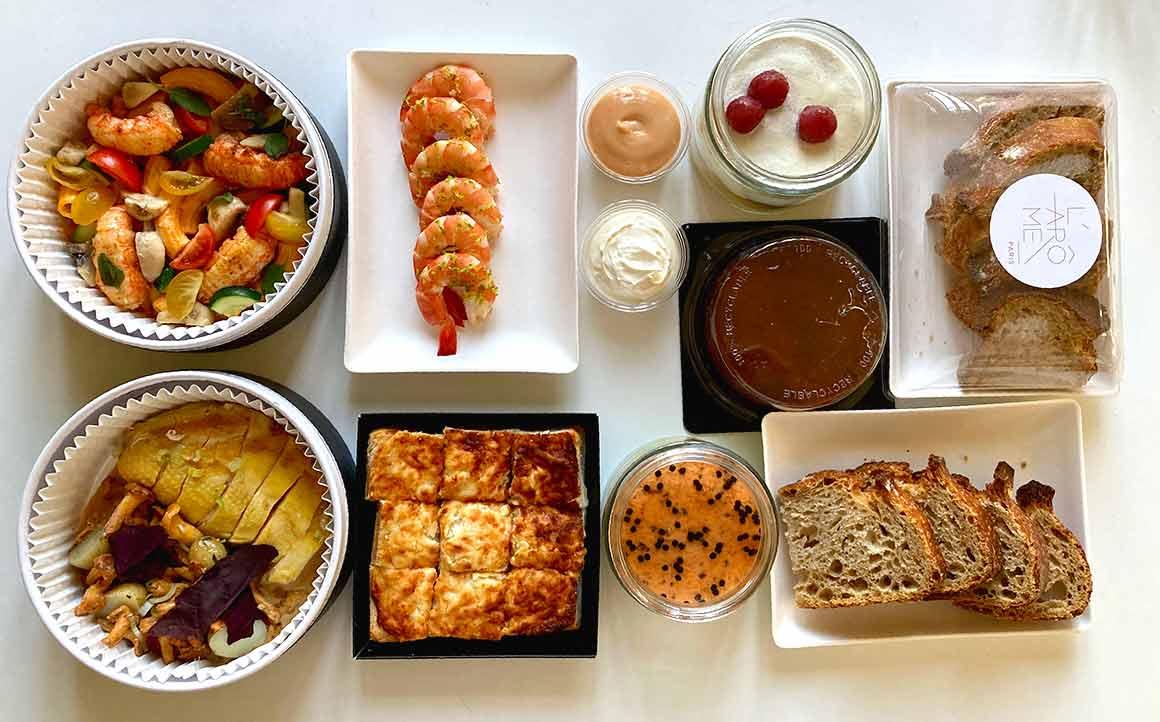Restaurant L'Arôme plats à emporter et en livraison