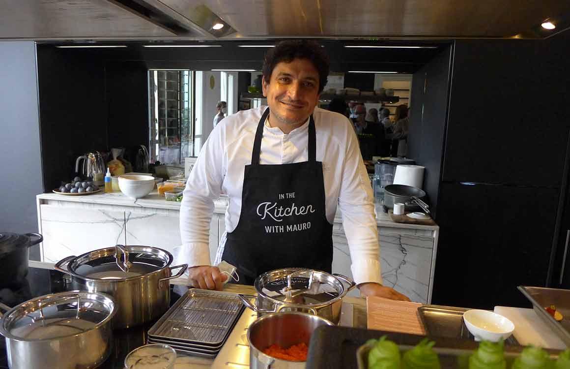 Le chef Mauro Colagreco