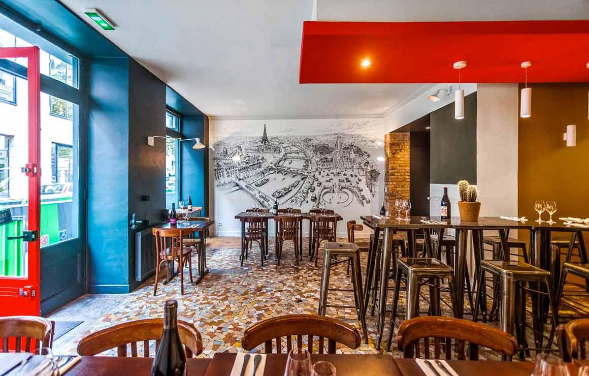 Restaurant Nous4 la salle