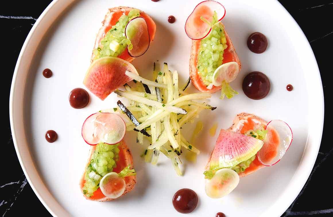 Restaurant Pipalottes La Table saumon