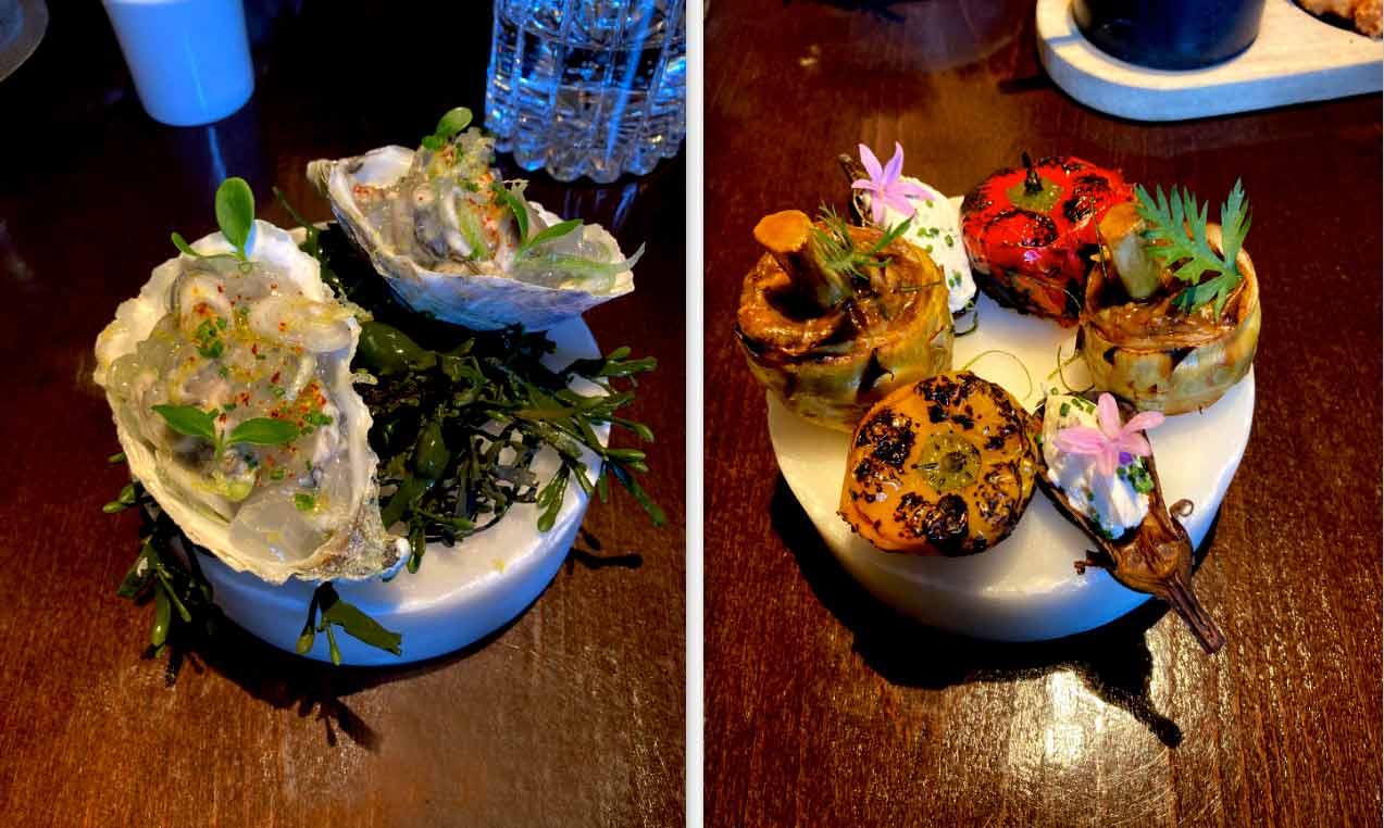 Drouant huîtres et petits farçis