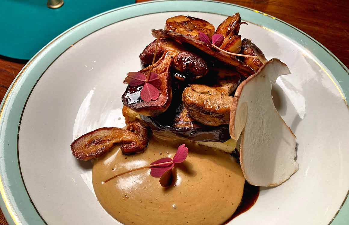 Restaurant Pétrelle les cèpes
