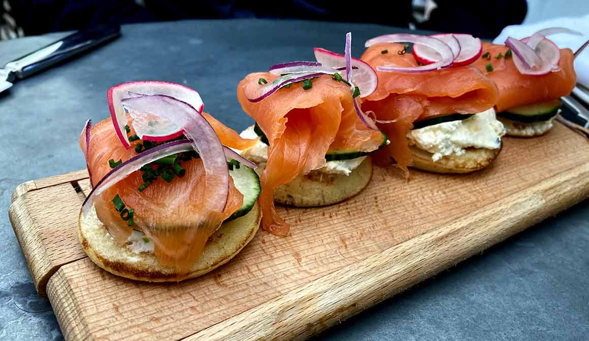 Restaurant Ralph's saumon fumé