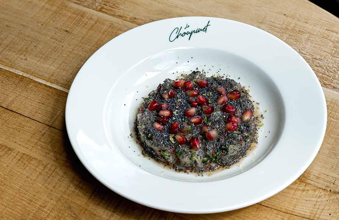 Restaurant Le Choupinet tartare de daurade