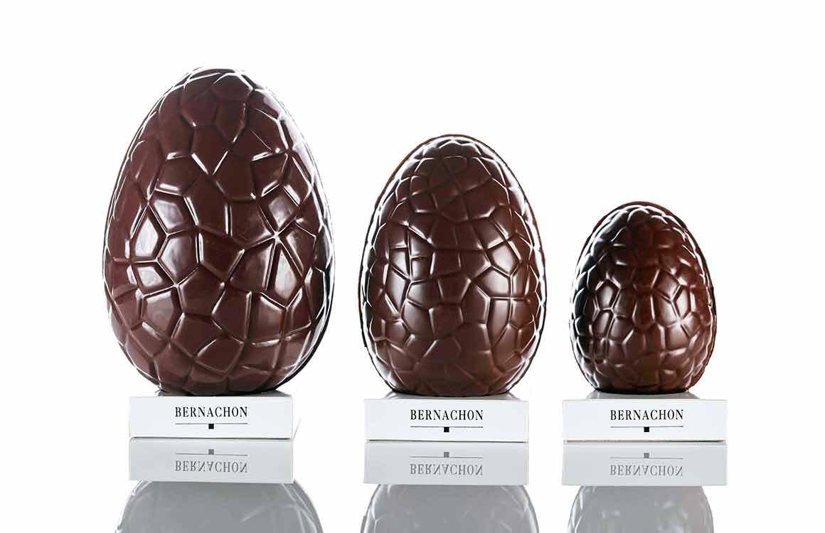 Les oeufs en chocolat de Bernachon
