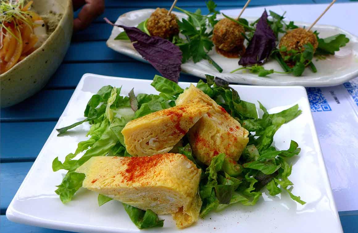 Restaurant Taisho omelette japonaise
