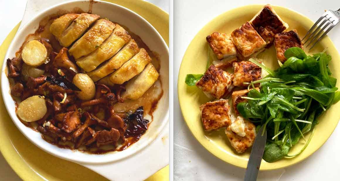 Restaurant L'Arôme Suprême de volaille et Croque-Monsieur