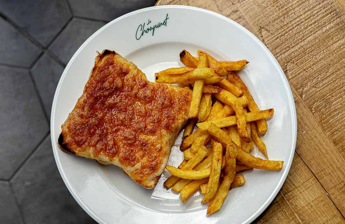 Restaurant Le Choupinet croque-monsieur