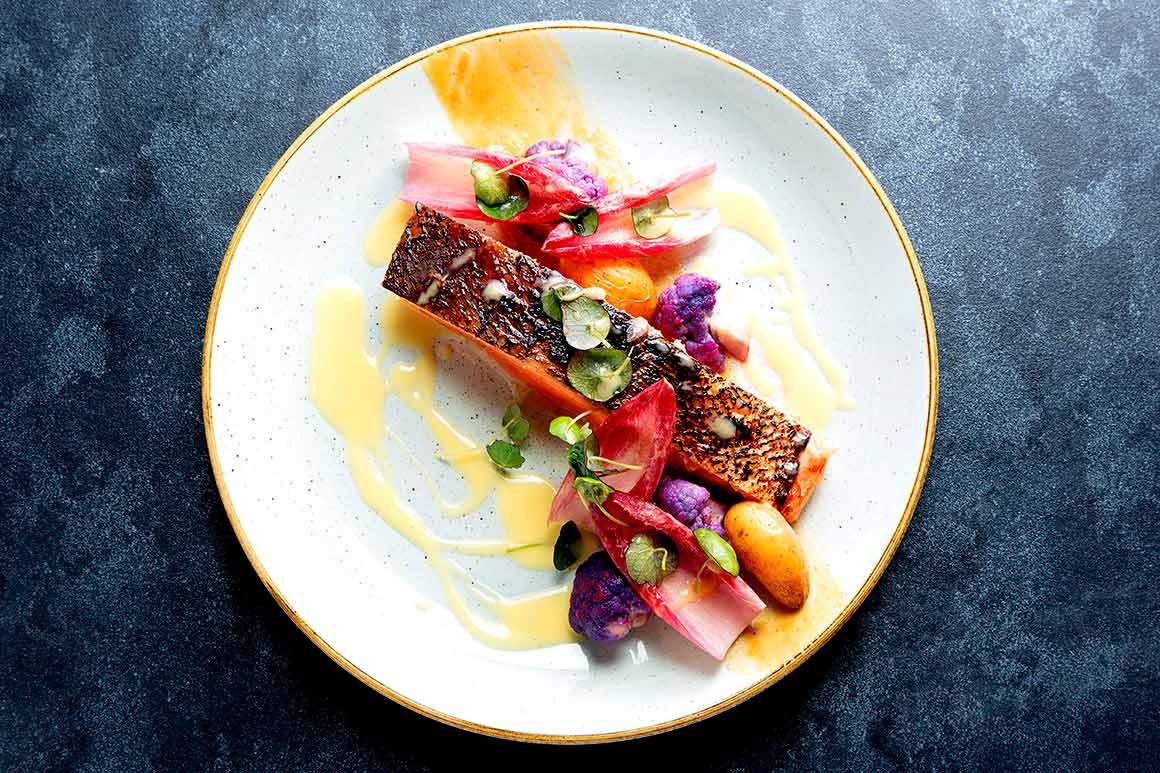 To Restaurant saumon mariné au miso