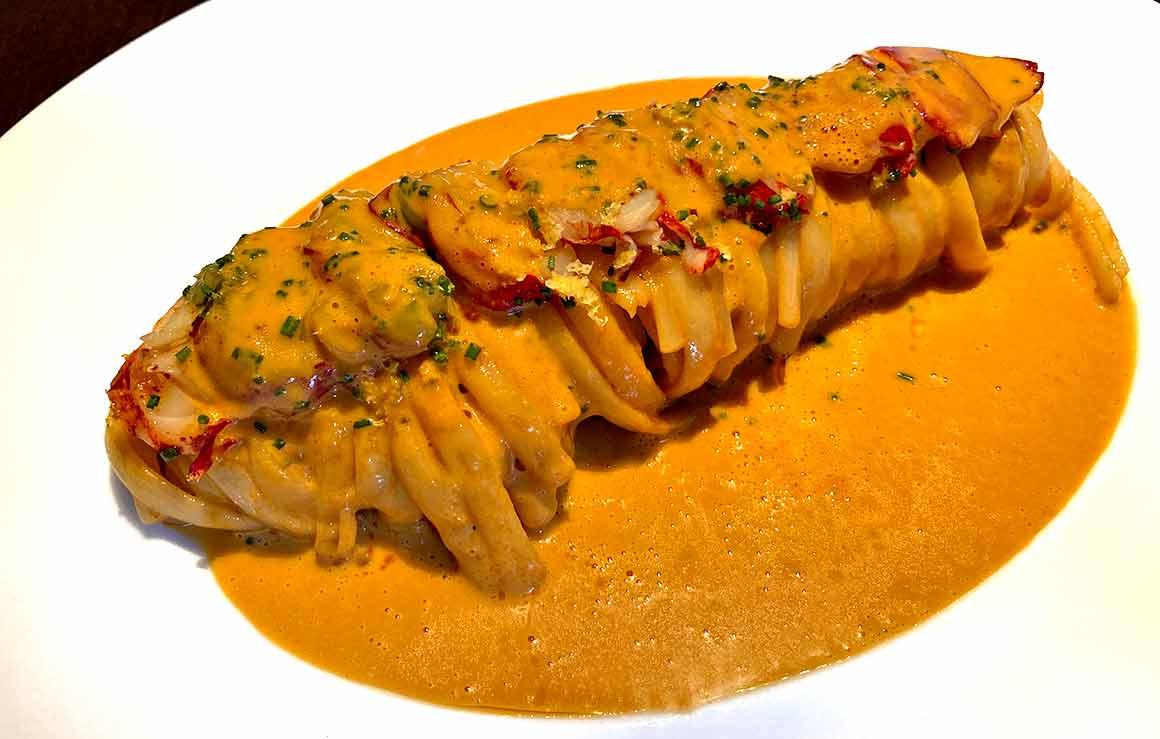 Drouant linguine au homard