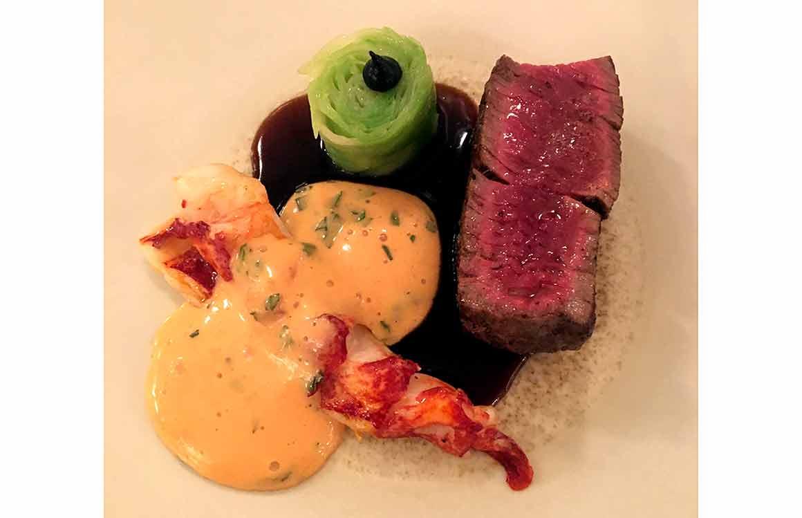 Restaurant L'Arôme Boeuf et homard