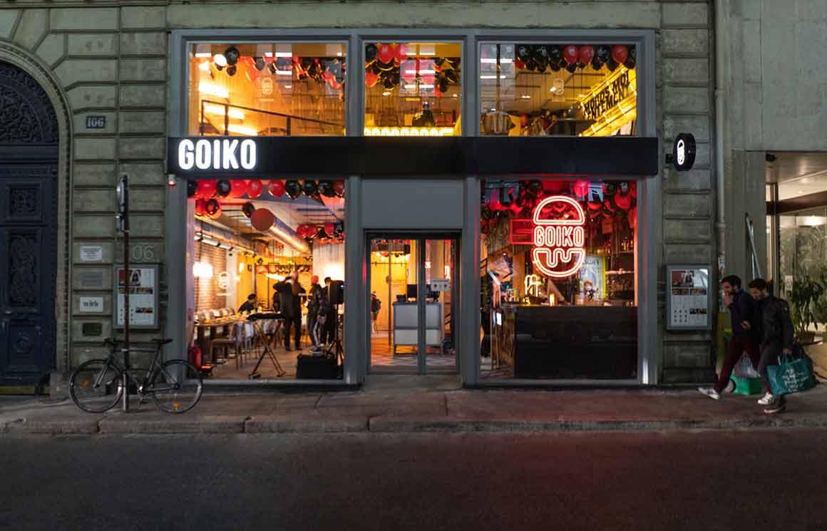 Burgers Goiko restaurant