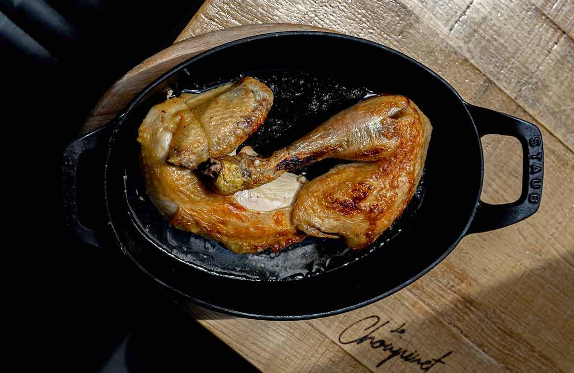 Restaurant Le Choupinet poulet