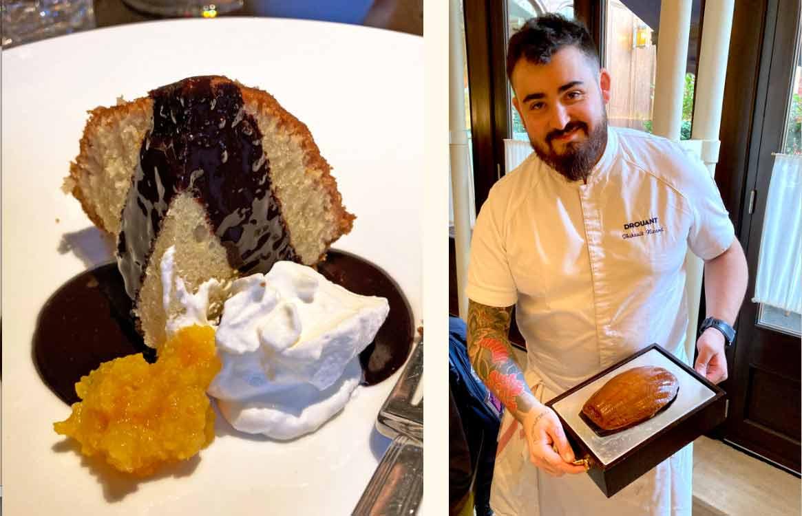 Drouant Madeleine  chef  Thibaud Nizard