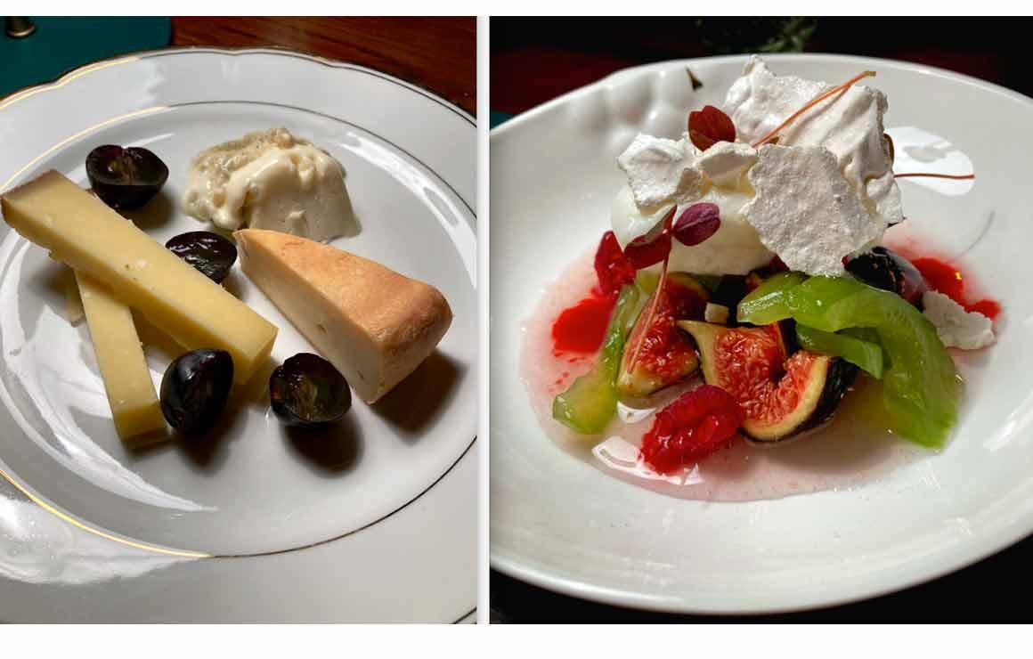 Restaurant Pétrelle fromages et figues noires