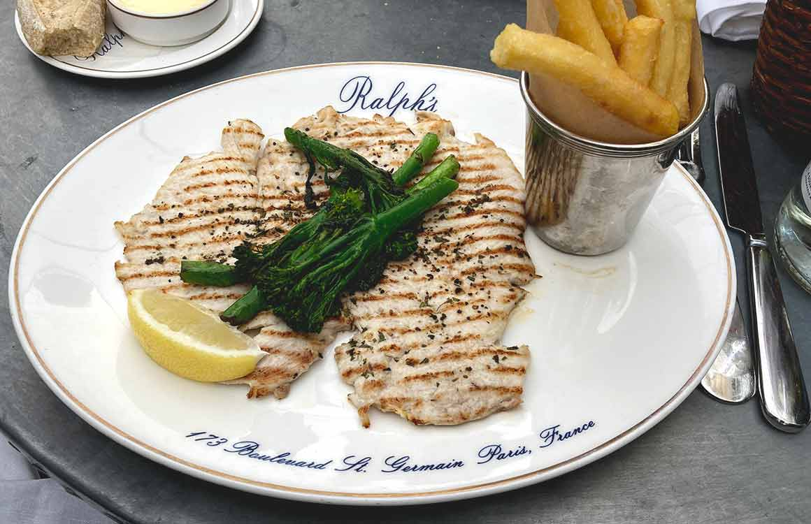 Restaurant Ralph's poitrine de poulet grillé