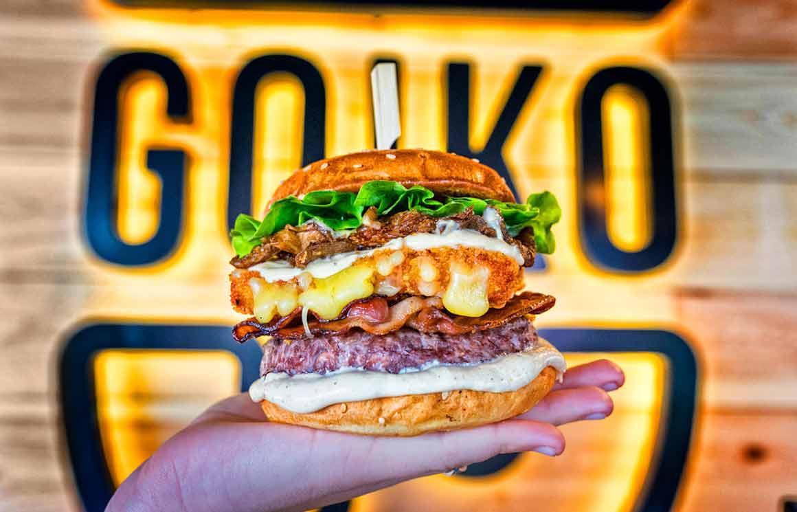 Burger Goiko Bomba