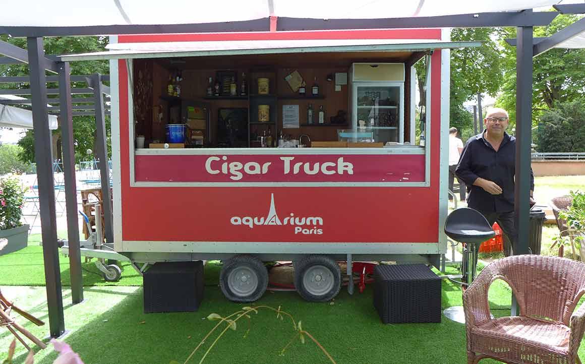 Le Cigar Truck et Bruno