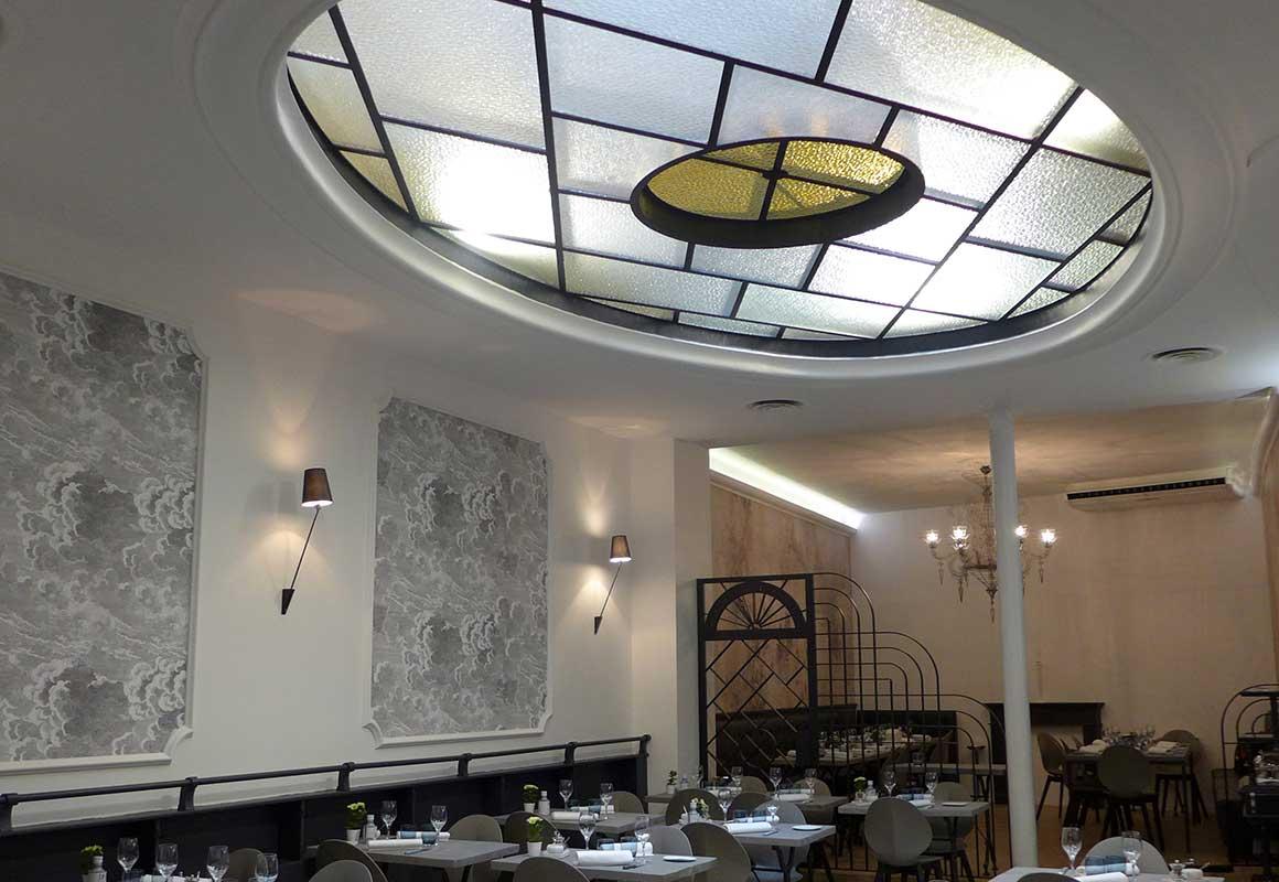Restaurant AG LES HALLES, la salle