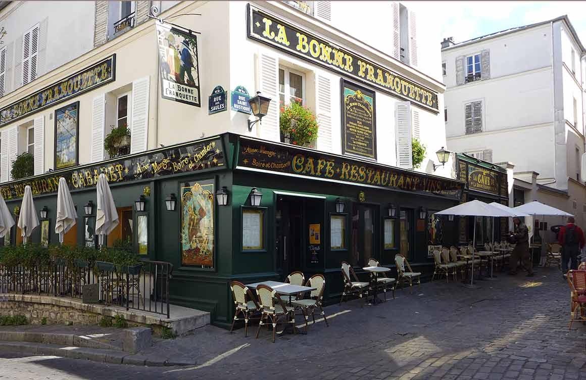 Restaurant A La Bonne Franquette, le restaurant