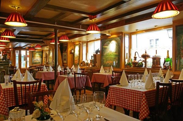 Restaurant A La Bonne Franquette, la salle