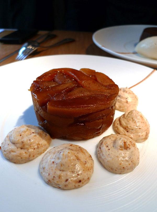 Restaurant A La Marguerite, tatin de pommes-poires