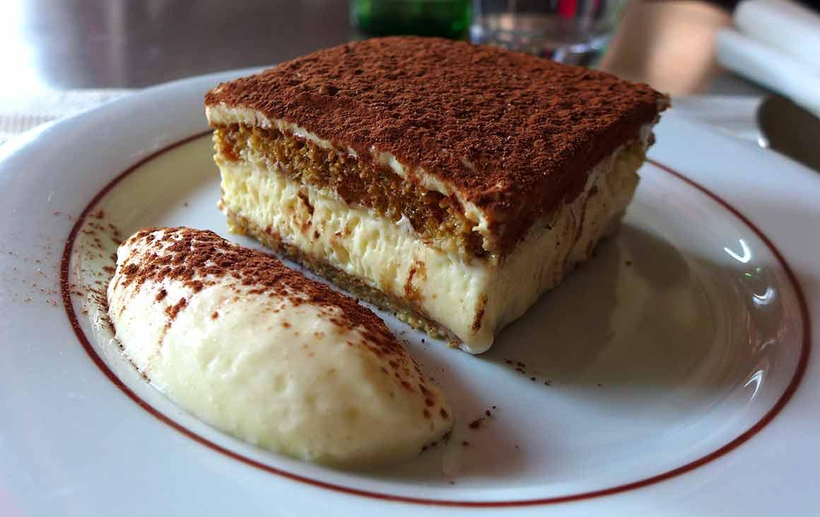 Restaurant Bellini, Le tiramisu