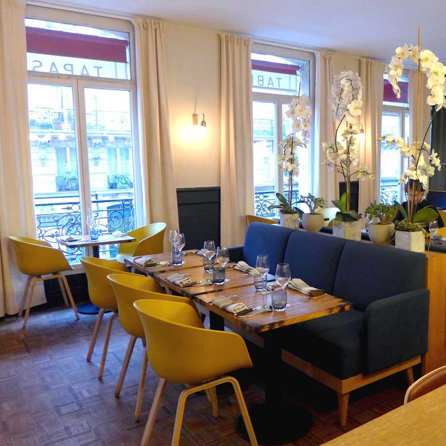 Restaurant A Noste, la salle en étage