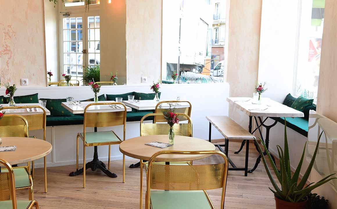 Restaurant Abattoir Végétal, La salle