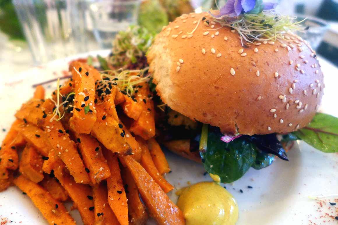 Restaurant Abattoir Végétal, Healthy Burger