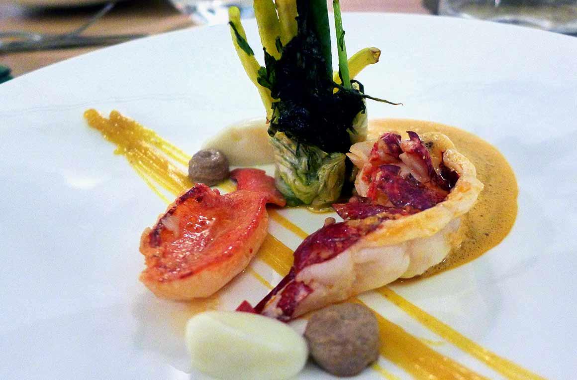 Restaurant ACCENTS, le homard